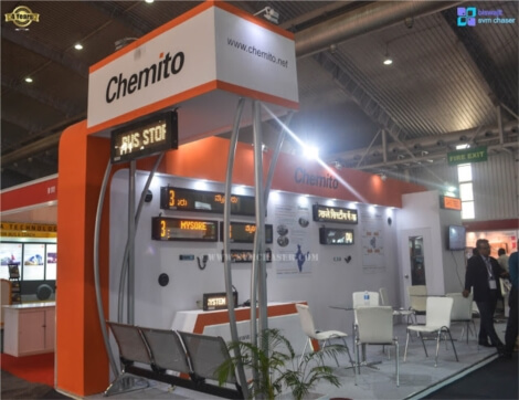 Chemito Infotech Pvt Ltd at Bus World India 2016